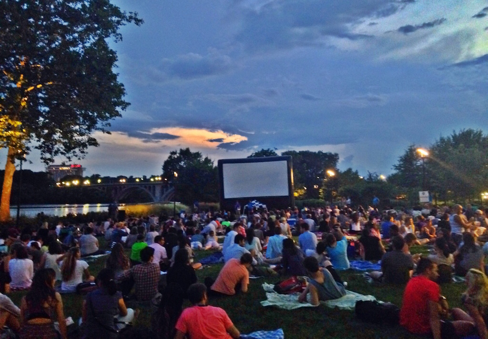 Georgetown Outdoor Movies