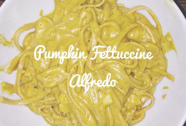 Pumpkin Fettuccinen Alfredo