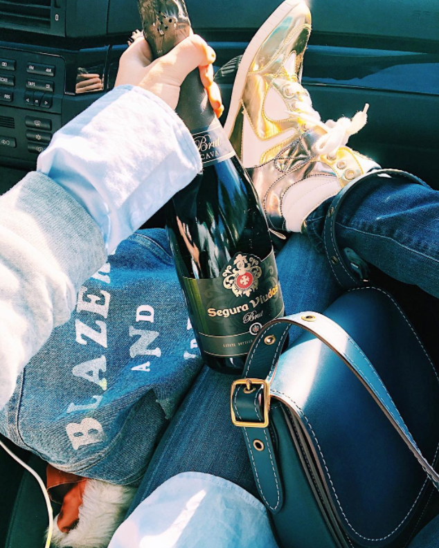 Blazers and Bubbly