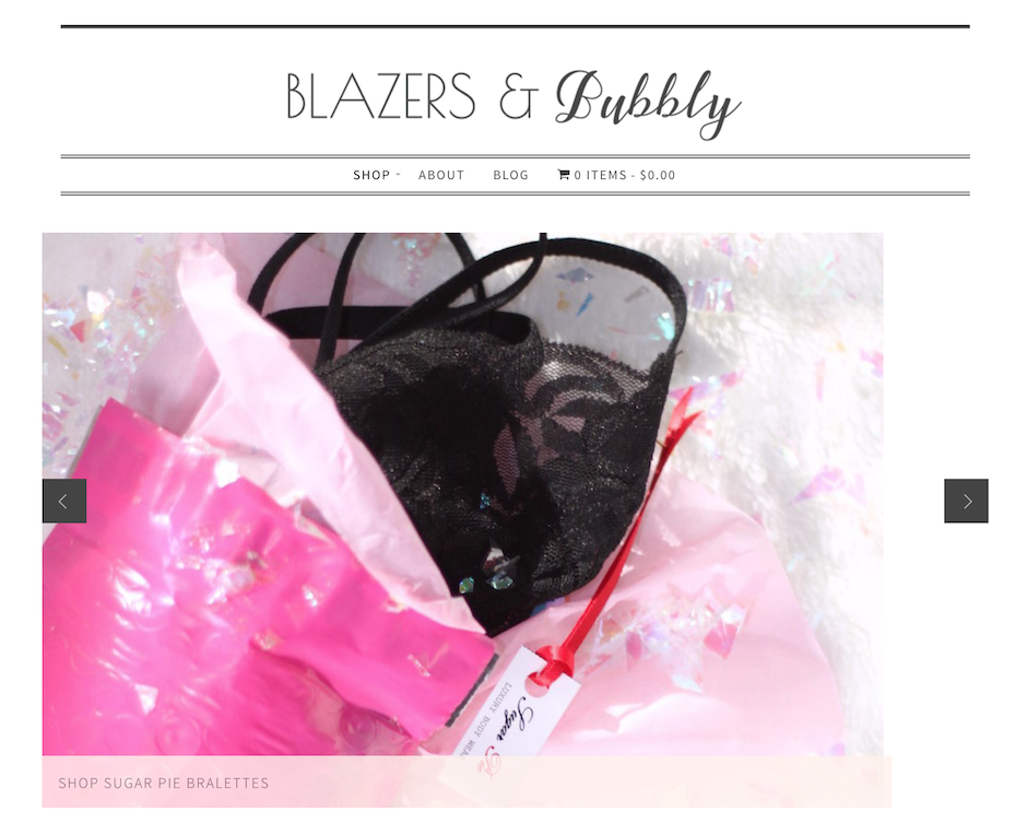 Blazers and Bubbly SHOP Has Officially RELAUNCHED
