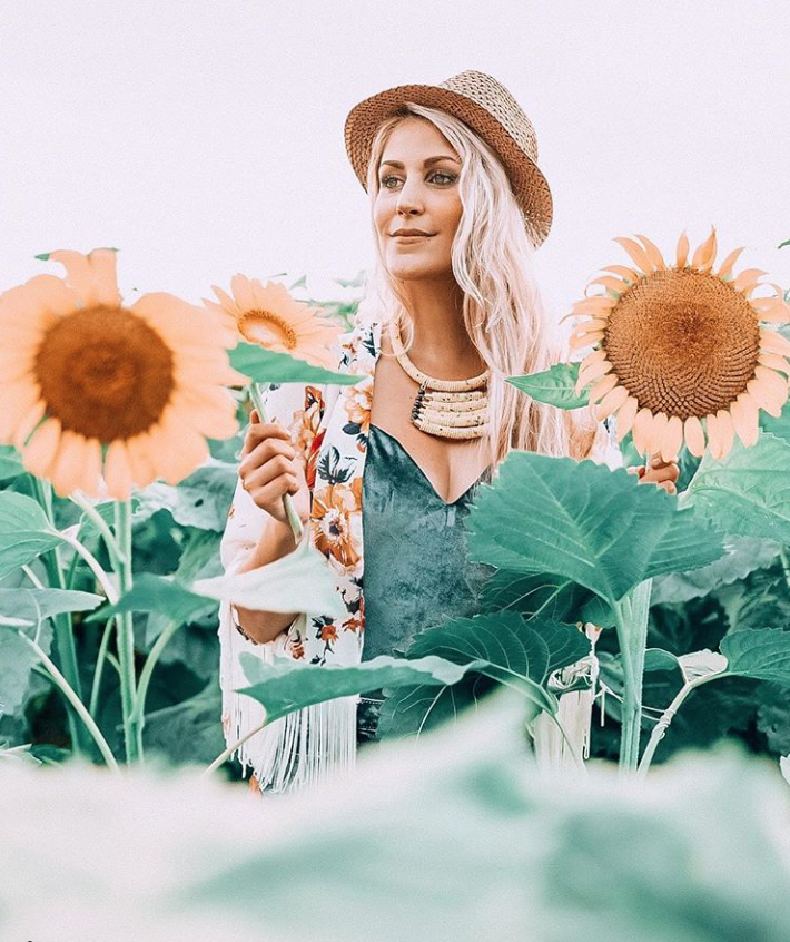 Boho Sunflower Field McKee-Beshers