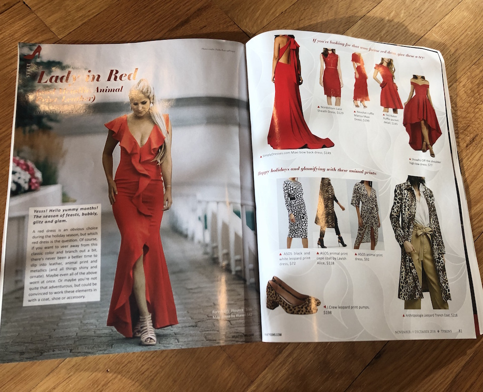 Lady in Red Viva Tysons Magazine