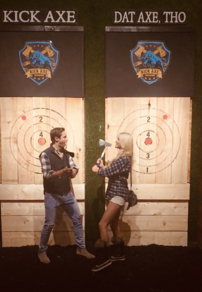 Kick axe throwing dc