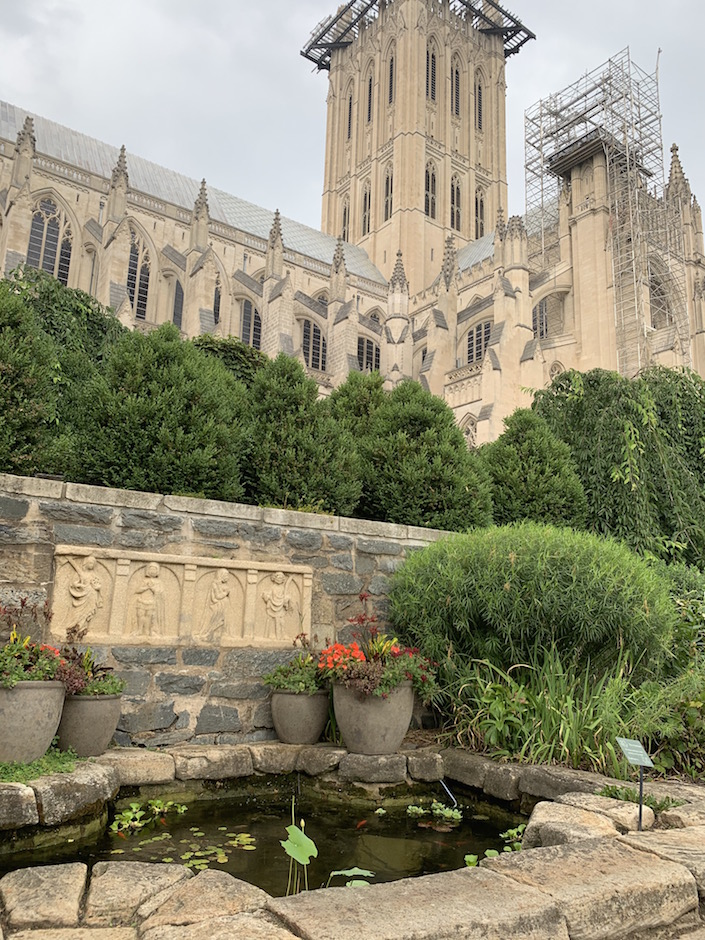 National Cathedral Garden DC