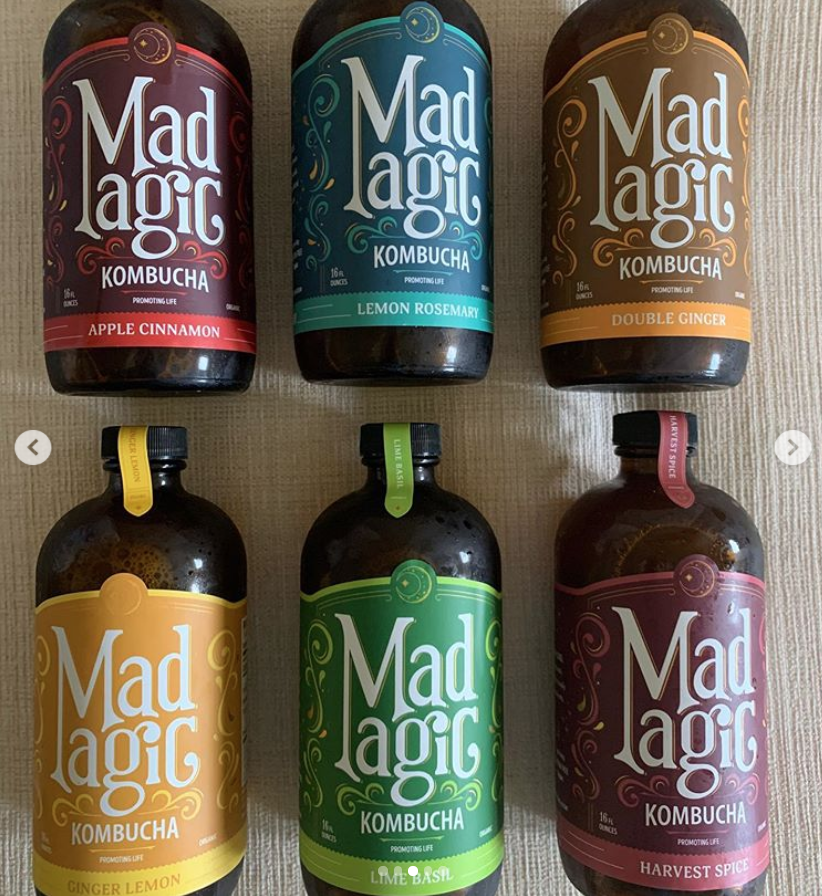 Mad Magic Kombucha